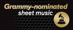 Grammy-nominated sheet music